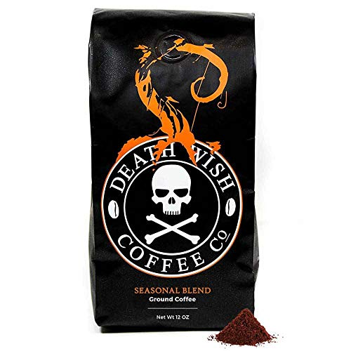 Death Wish Coffee Organic Pumpkin Spice Coffee - 12 oz Bag (Ground)
