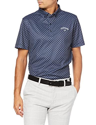[キャロウェイ] [メンズ] 半袖 ポロシャツ 速乾 (ウエストボックス型) / ゴルフ / C21234103 1120_ネイビー M