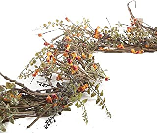 Factory Direct Craft Artificial Woodland Bittersweet and Twig Garland for Home Decor, Crafting and Displaying
