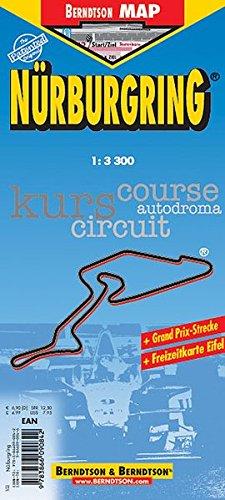 Nürburgring: 1:3300. Einzelkarten: Nürburgring 1:3300; Nürburgring Nordschleife 1:16000; Übersichtskarte Rheinlandpfalz, Eifel und Nürburgring 1:350000