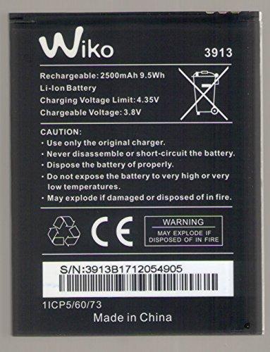 Batteria originale WIKO LENNY 4 e WIKO 3913 Li-ion 3.8V , 2500 mAh