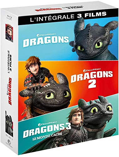Intégrale Dragons en Blu-ray