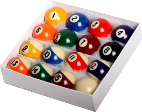 Empire USA Mini Pool Ball Set, 1.5-Inch