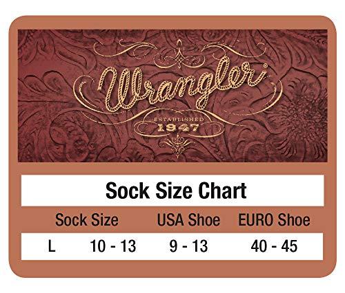 Wrangler mens Steel Toe Boot Ultra-dri Work Crew Socks 2 Pair Pack