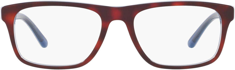 Polo Ralph Japan's largest Max 55% OFF assortment Lauren Men's Eyewear Ph2211 Rectangular Prescription