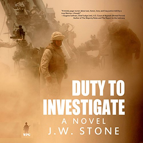 Duty to Investigate audiobook cover art
