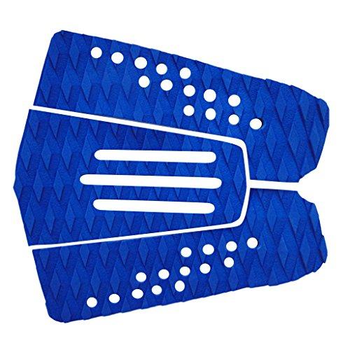 Gazechimp 3x Cubierta Almohadilla de Tracción para Tabla de Surf - Azul