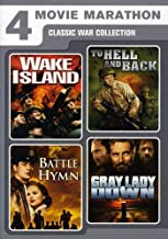 Four-Movie Marathon: Classic War Collection (Wake Island / To Hell and Back / Battle Hymn / Gray Lady Down)
