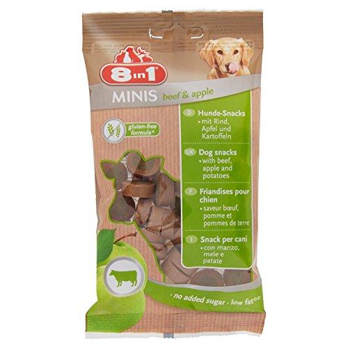 Best Friend Mini Snack per Cani 8in1 Gusto Manzo e Mele 100 gr