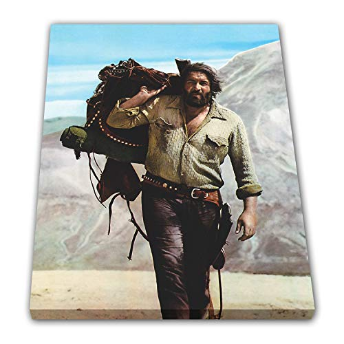 Bud Spencer - Bambino (Vier Fäuste für EIN Halleluja) - Leinwand (60x80cm)
