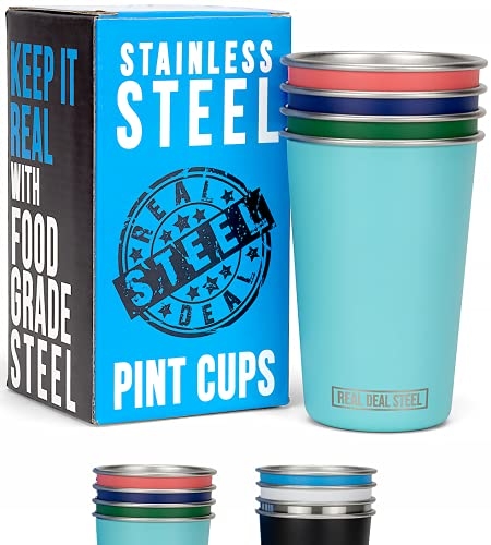 Vasos marca Real Deal Steel