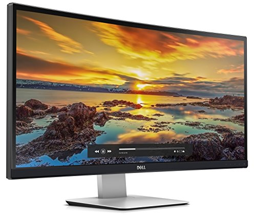 Dell U3415W 86,5 cm (34 Zoll) Monitor (3440 x 1440, LED, HDMI, Display Port, 5ms Reaktionszeit)