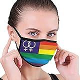 Máscara de media cara de tela con orejeras antipolvo, anti neblina a prueba de viento Rainbow-venus-5-x-3-flag-4003-p