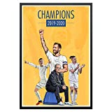 Legendary Signings Leeds United 19/20 Champions Poster