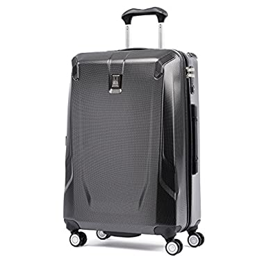 Travelpro Crew 11 25  Hardside Spinner Suitcase, Carbon Grey