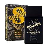 BILLION DOLLAR CASINO ROYAL Perfume para hombre Paris Elysees vaporizador 100 ml