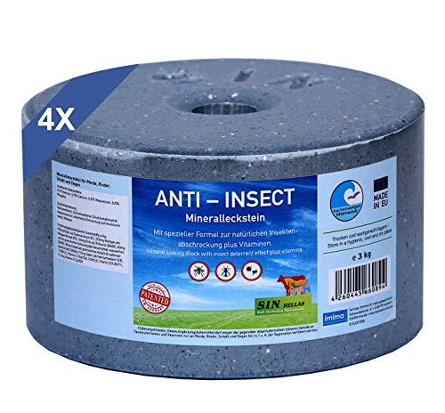 imima Anti-Insect Mineralleckstein, Set mit 4X 3kg