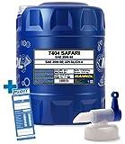 MANNOL 20L Safari 20W-50 Motorenöl API SL/CF Universal ÖL + Auslaufhahn für Oldtimer