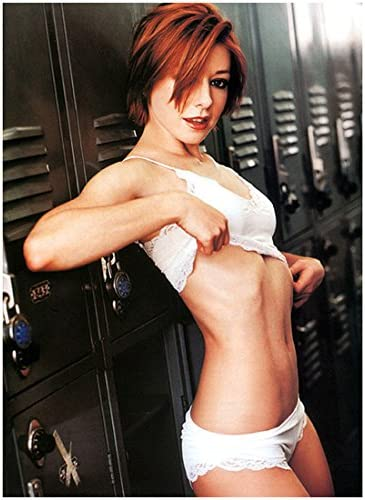 Alyson Hannigan 8 X 10 Photo Buffy Vampire Slayer How Los Angeles Mall Met the Mail order I