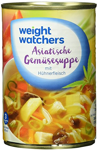 Weight Watchers Asiat. Gemsesuppe , 3er Pack (3 x 395 ml Dose)