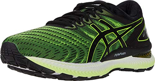 ASICS Gel-Nimbus 22 - Zapatillas de correr para hombre, Amarillo (Amarillo/Negro (Safety Yellow/Black)), 46 EU