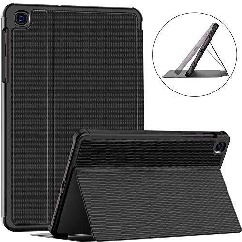 Soke Case for Samsung Galaxy Tab A 8.4 (2020 model SM-T307), Folio Protective Cover, multi-viewing angle, Hard TPU Backshell for Galaxy Tab A 8.4 Inch 2020, Black