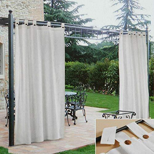 Morbidissimi Tenda Gazebo Idrorepellente con Passanti 200x270 cm - Bianco Z309