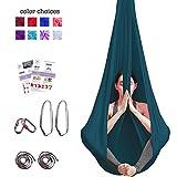 Aerial Yoga Hammock - Premium Aerial Silk Yoga Swing for...