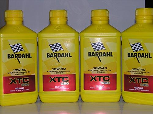 4lt Aceite Motor moto Bardahl Bardhal XTC C6010W40sintético 4tiempos