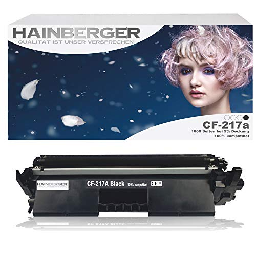Hainberger Toner Compatible with HP CF-217A 17A Laserjet Pro M102 M102a M102 M102w M130 M130a M130fn M130fw M130MFP M130nw M130 M132 M132a M132fn M132fp M132fw M132nw M132M132snw M134 M134a fw