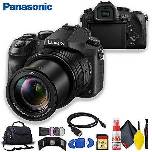 Find Discount Panasonic Lumix DMC-FZ2500 Digital Camera Bundle Essentials