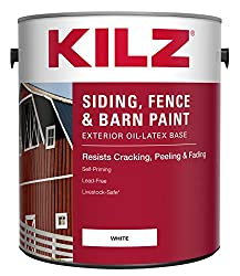 KILZ Exterior Siding Fence and Barn Paint - Best Shed Paint Ideas
