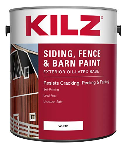 KILZ Exterior Siding, Fence, and Barn...