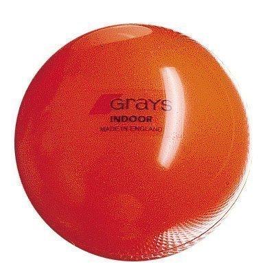 Grays Indoor Indoor Hockey Ball - Orange, 5.5 oz by Grays