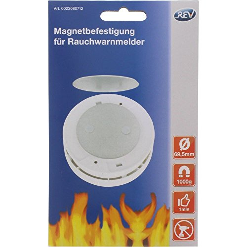 REV magneetbevestiging voor rookmelder