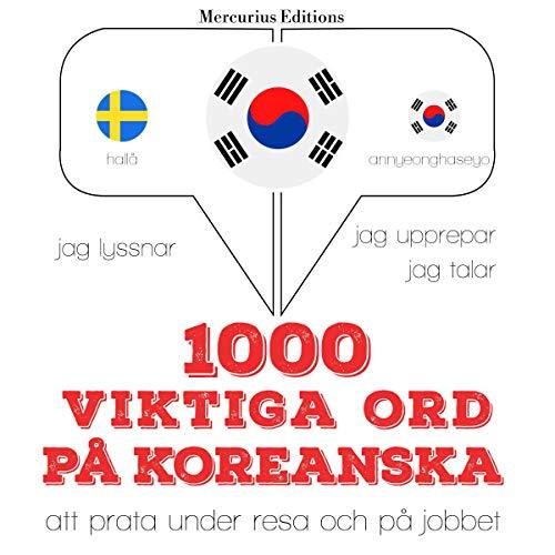 1000 viktiga ord på koreanska cover art