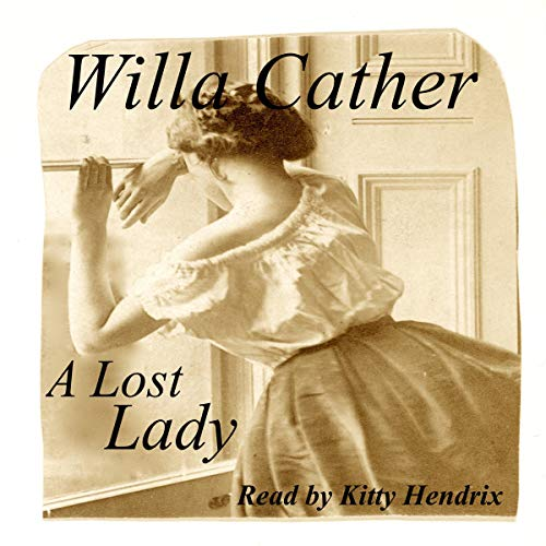 A Lost Lady audiobook cover art