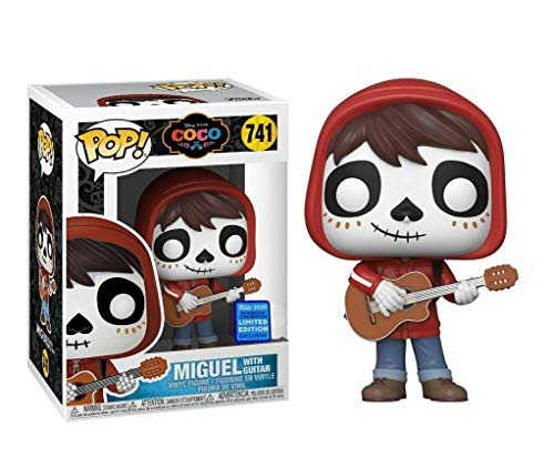 USA OFFICIAL Coco Funko Pop 741 Miguel with Guitar Figure 9 cm Wondrous Convention Exclusive