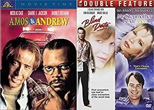 Late 1980's Quirky Comedies: Amos & Andrew + Blind Date/ My Stepmother is an Alien (DVD Comedy Bundle/ 3 Feature Films)