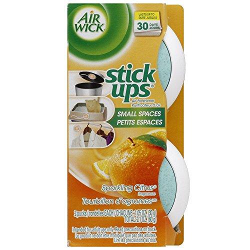 Air Wick Stick Ups Air Freshener, Sparkling Citrus, 2 ct