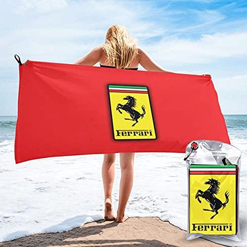 Ferrari Premium Cotton Extra Large Toallas de baño Altamente absorbentes Toallas de secado rápido Sábanas de baño Calidad Hotel