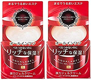Aqua Label Special Gel Cream (Moist) 1 Set (2 Pieces: 90 g × 2) Shiseido