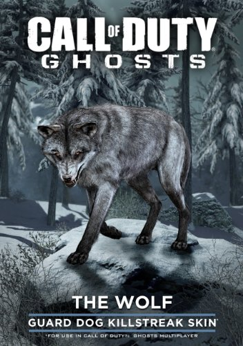 Call of duty: ghosts - wolf skin [online game code]
