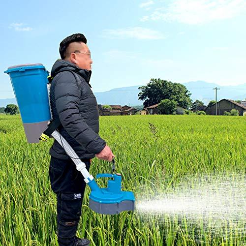 BJYX Esparcidores de Fertilizante para Siembra Fertilizante Compuesto Urea Pellet Feed Snow Melting Agent Semillas para Granja Cría Estanques Peces Huerto Césped Campo Arroz Tierras Cultivo