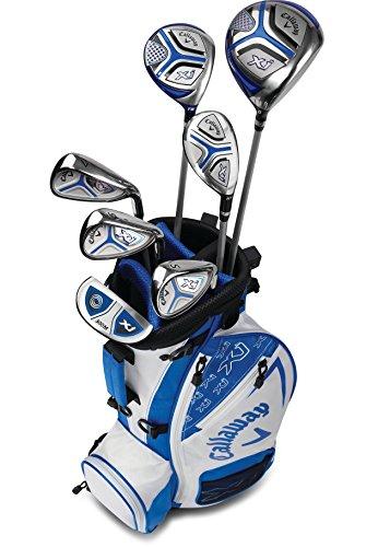 Callaway Golf 2018 Xj Junior Set, Level 3, 7 Piece Set, Right Hand, White