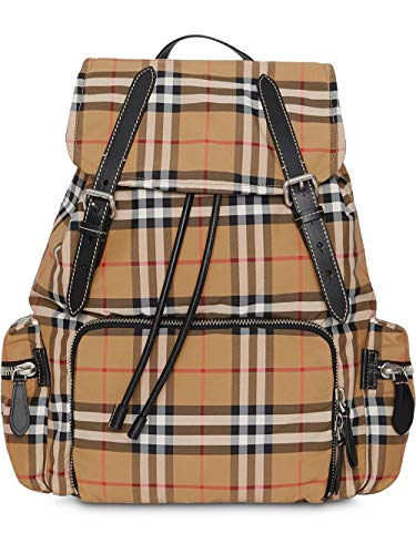 BURBERRY Luxury Fashion Herren 8005141 Braun Polyamid Rucksack | Herbst Winter 19