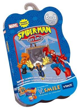 VTech - Cartouche de jeu V.Smile Spiderman N°2 - Le Défi Du Docteur Ock - 92525