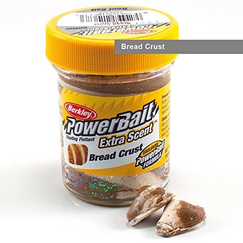 Berkley Powerbait Pâte appât pour truites, Multicolore (Bread Crust), 50 g