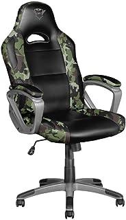 Trust Gaming GXT 705C Ryon Chaise Gaming, Chaise Gamer Ergonomique (Pivotement Total sur 360°, Vérin à Gaz de Classe 4, Si...