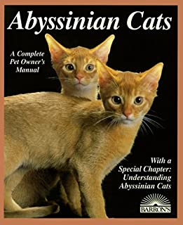 Abyssinian Cats: Everything about Acquisition, Care, Nutrition, Behavior, Health Care, and Breeding (Barron's Complete Pet Owner's Manuals) (0812028643) | Amazon price tracker / tracking, Amazon price history charts, Amazon price watches, Amazon price drop alerts